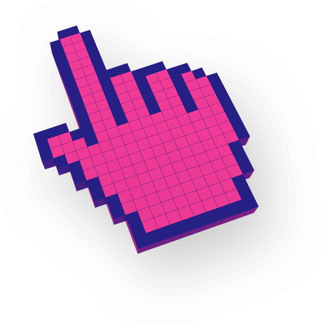 Digital pointer cursor in 3d